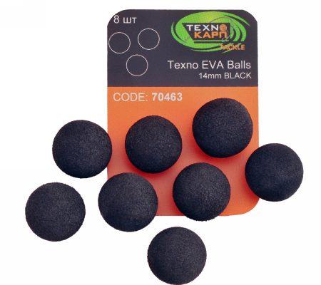 Texno EVA Balls 14mm black уп/8шт