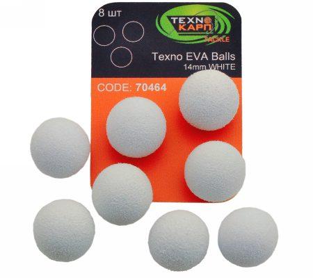 Texno EVA Balls 14mm white уп/8шт