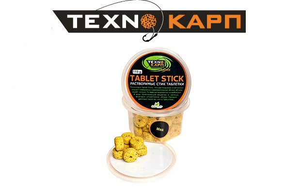 Растворимая таблетка «Tablet Stick»  (Мёд)